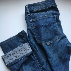 Gap 1969 Real Straight Jeans  with Cuff Detail